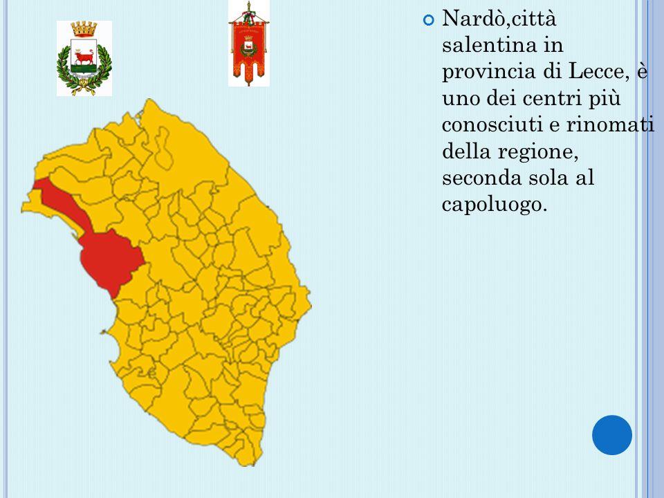 Nardò,città salentina in provincia di Lecce, è uno dei centri più conosciuti e rinomati della regione, seconda sola al capoluogo.