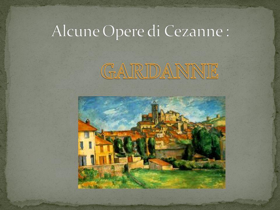 Alcune Opere di Cezanne :
