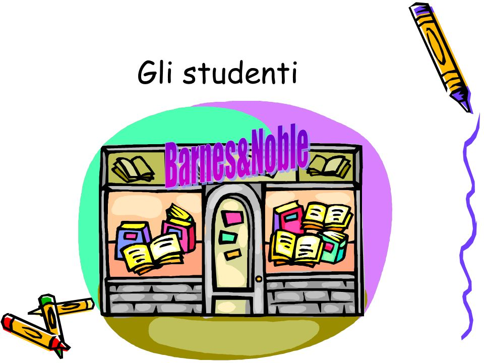 Gli studenti Barnes&Noble