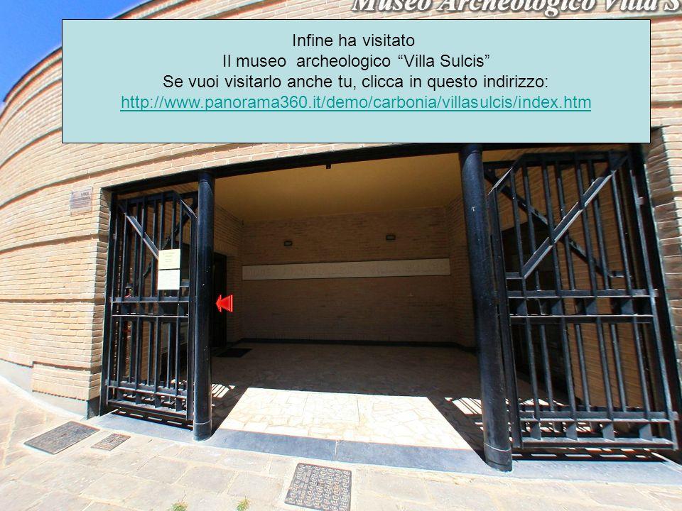 Il museo archeologico Villa Sulcis