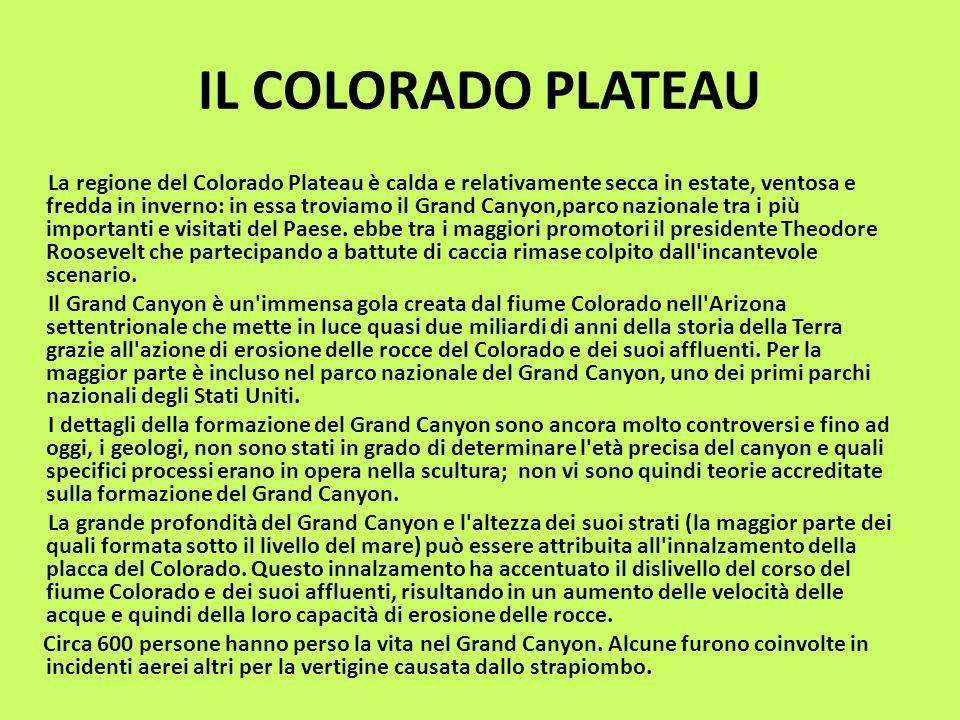 IL COLORADO PLATEAU