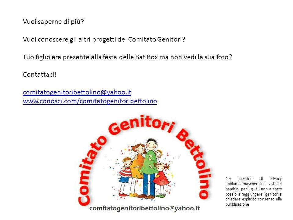 Vuoi conoscere gli altri progetti del Comitato Genitori