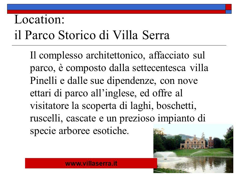 Location: il Parco Storico di Villa Serra