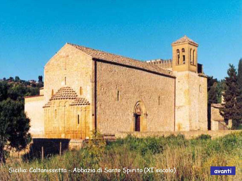 Sicilia: Caltanissetta - Abbazia di Santo Spirito (XI secolo)