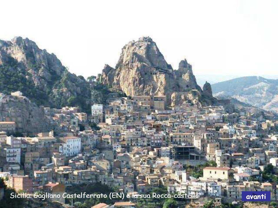 Sicilia: Gagliano Castelferrato (EN) e la sua Rocca-castello