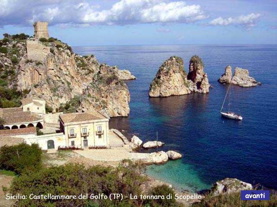 Sicilia: Castellammare del Golfo (TP) – La tonnara di Scopello