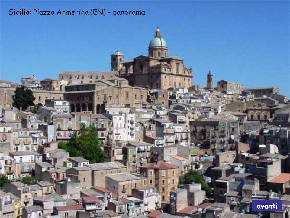 Sicilia: Piazza Armerina (EN) - panorama