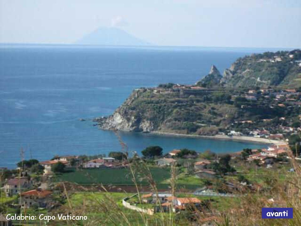 avanti Calabria: Capo Vaticano