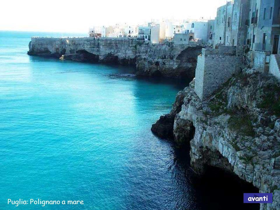 avanti Puglia: Polignano a mare