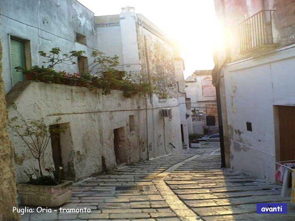 Puglia: Oria - tramonto