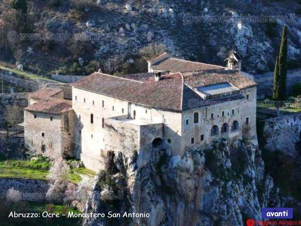 Abruzzo: Ocre – Monastero San Antonio