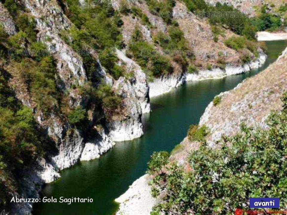 Abruzzo: Gola Sagittario