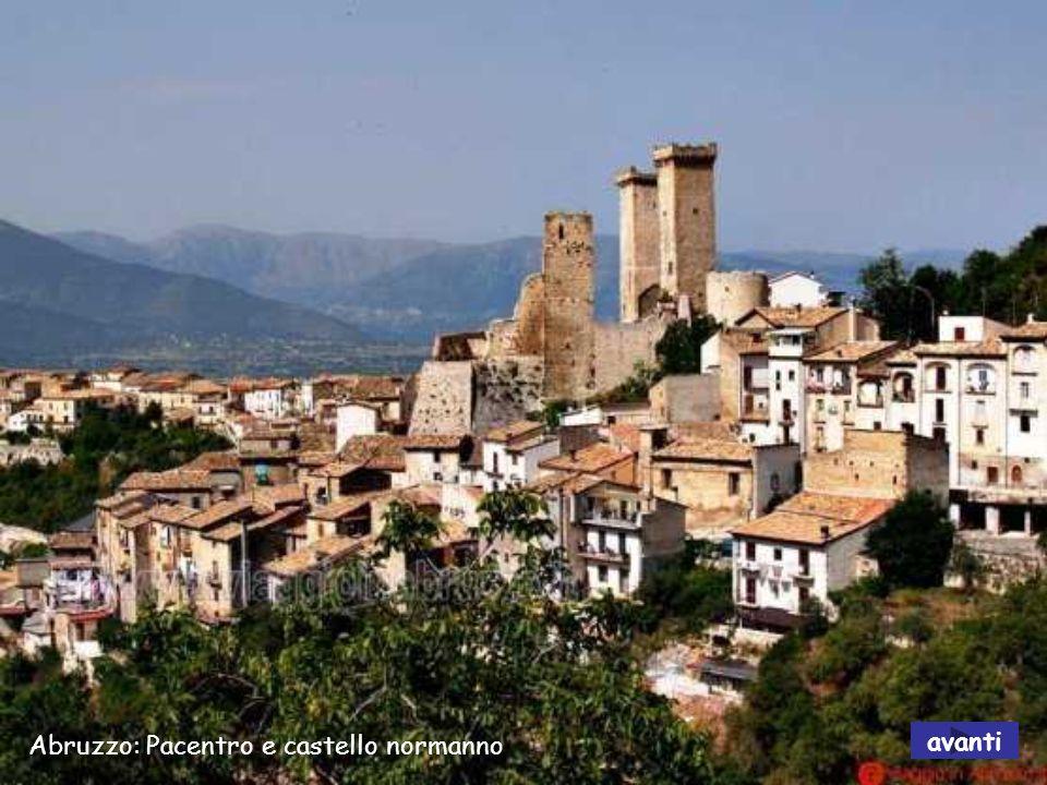 Abruzzo: Pacentro e castello normanno
