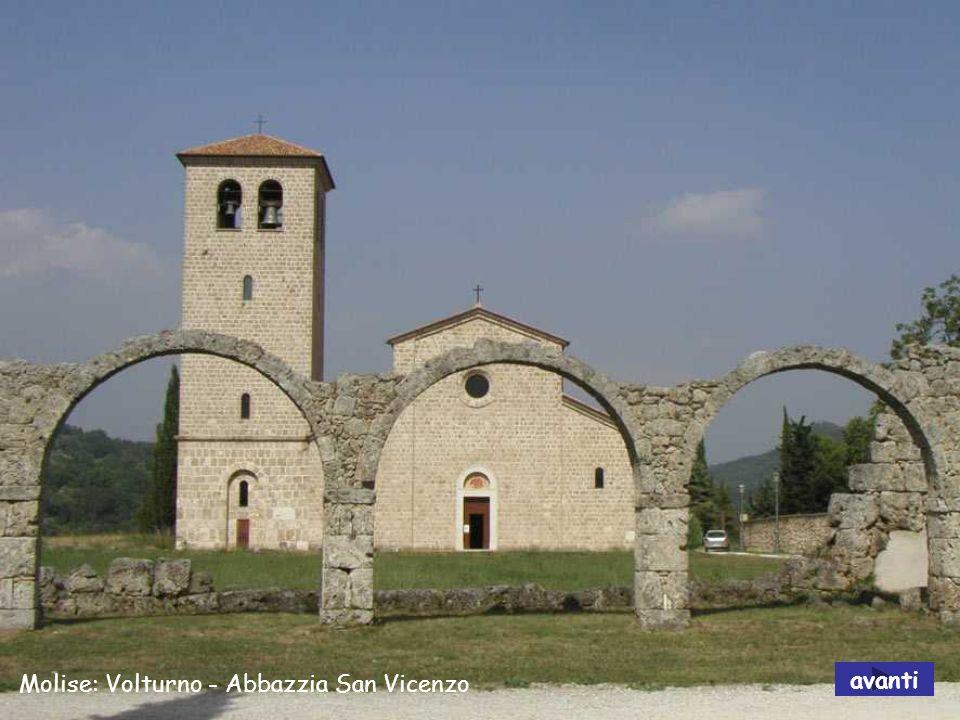 Molise: Volturno - Abbazzia San Vicenzo