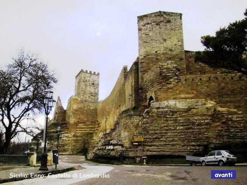Sicilia: Enna: Castello di Lombardia