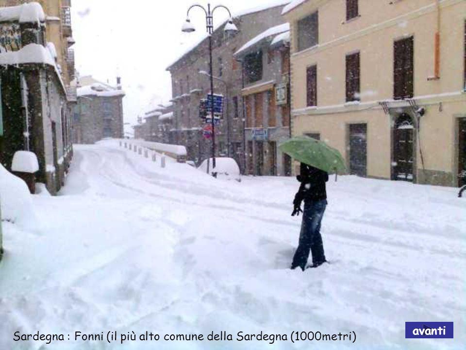 avanti Sardegna : Fonni (il più alto comune della Sardegna (1000metri)