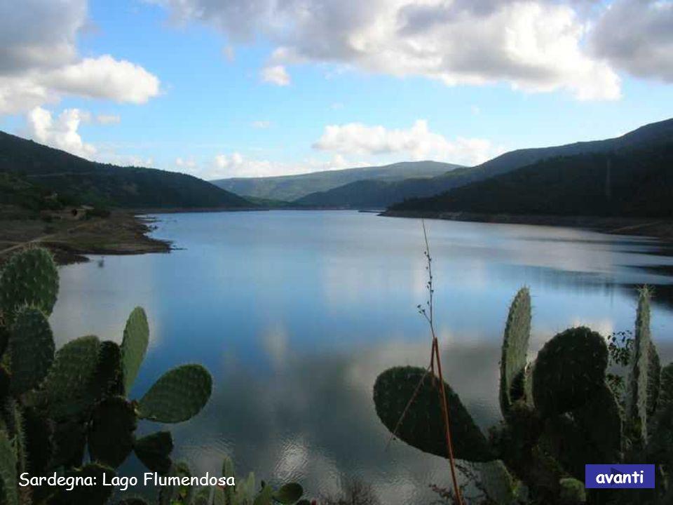 Sardegna: Lago Flumendosa