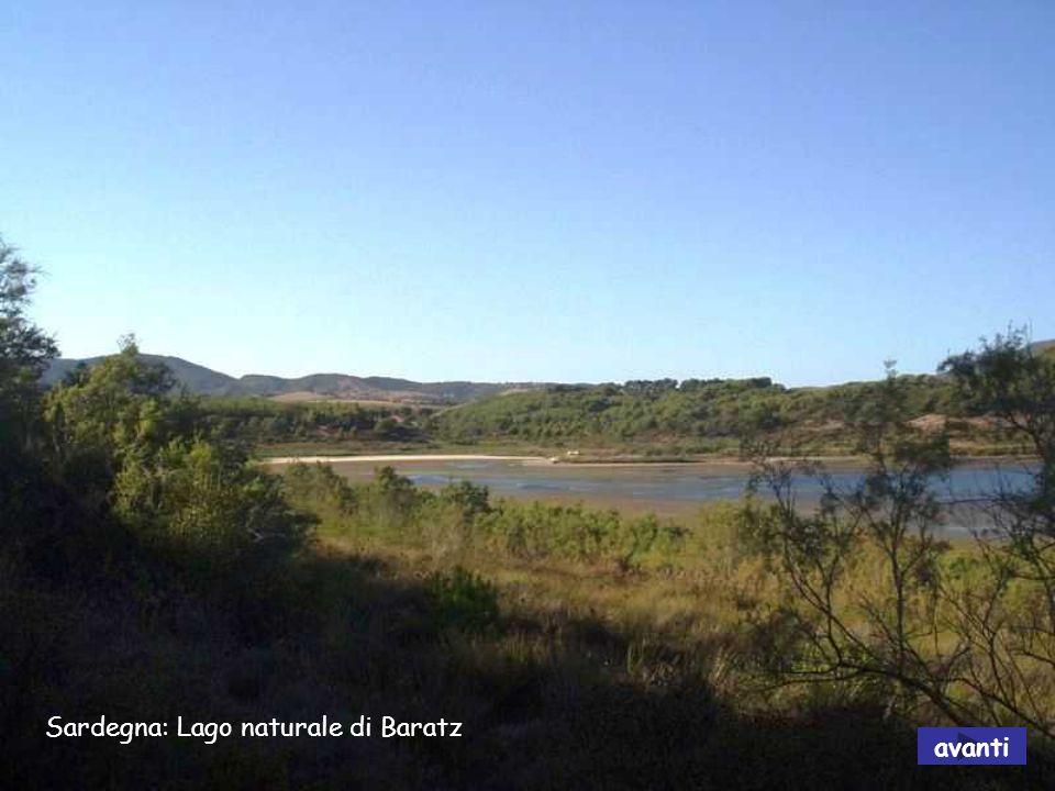 Sardegna: Lago naturale di Baratz