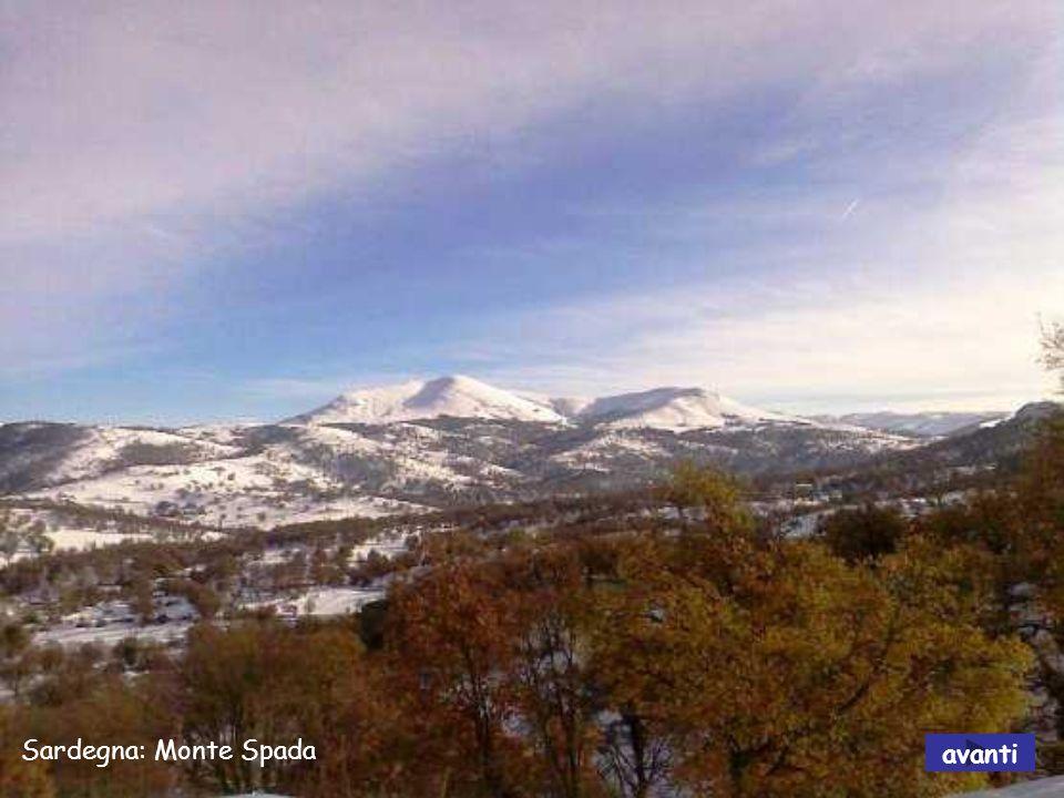 Sardegna: Monte Spada avanti