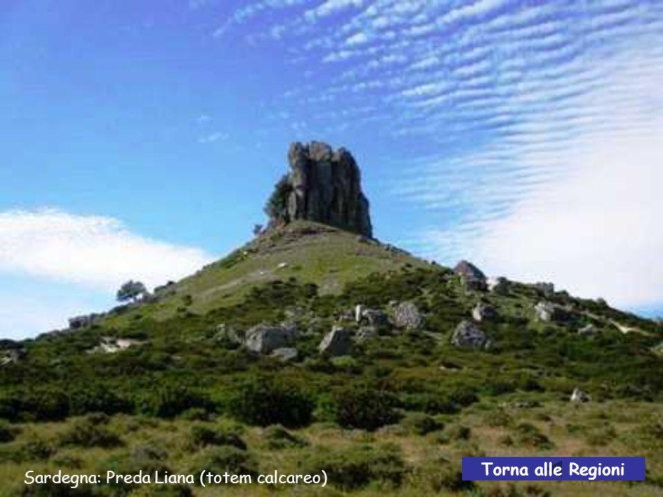 Torna alle Regioni Sardegna: Preda Liana (totem calcareo)