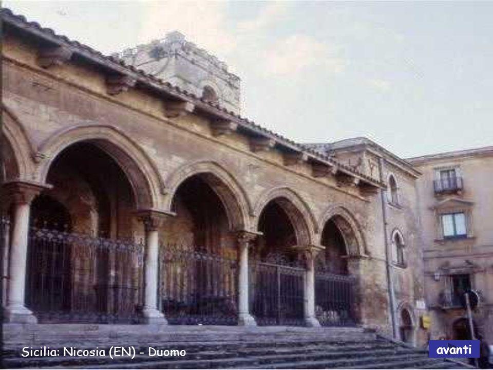Sicilia: Nicosia (EN) - Duomo