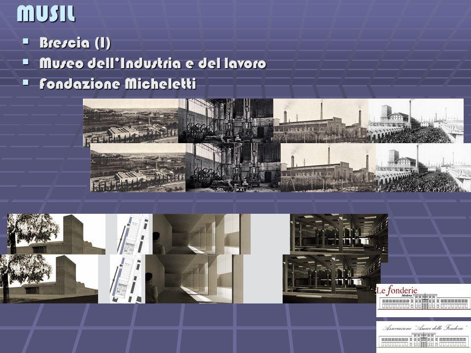 MUSIL Brescia (I) Museo dell'Industria e del lavoro
