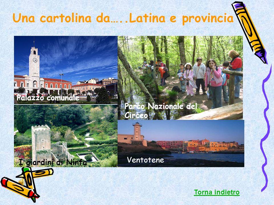 Una cartolina da…..Latina e provincia