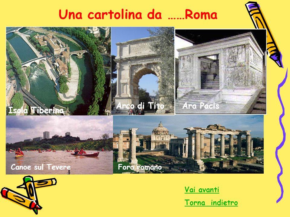 Una cartolina da ……Roma
