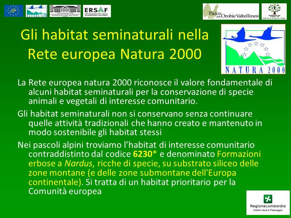 Gli habitat seminaturali nella Rete europea Natura 2000