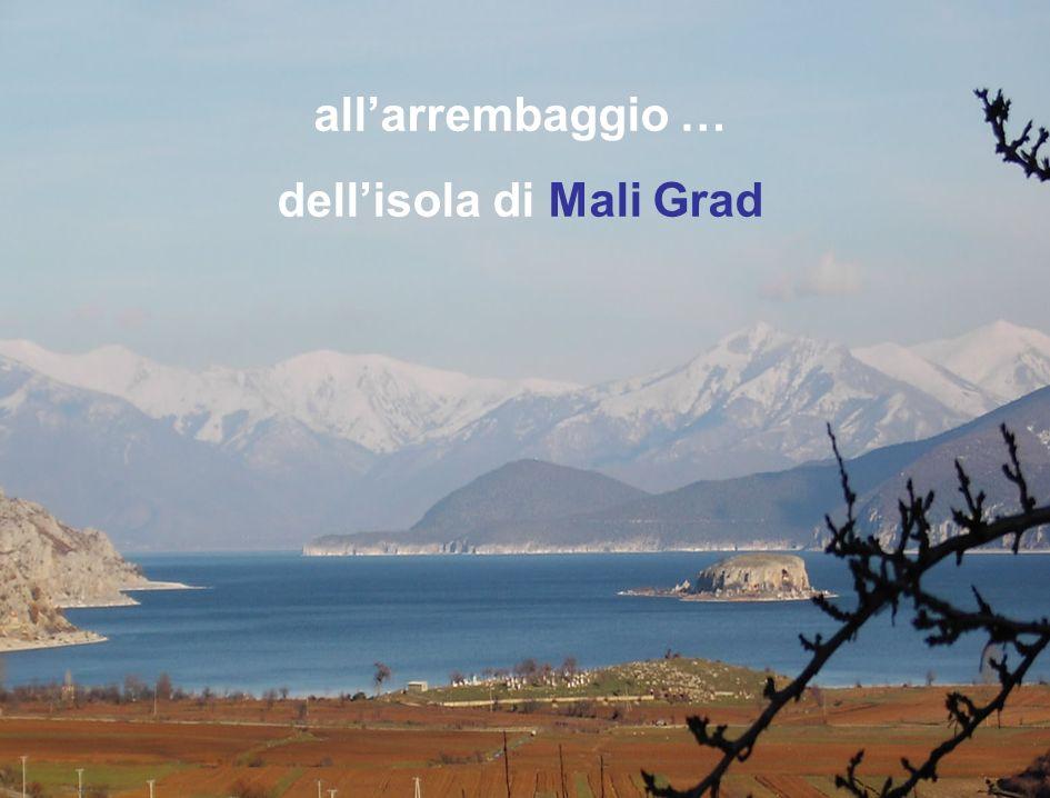 dell'isola di Mali Grad