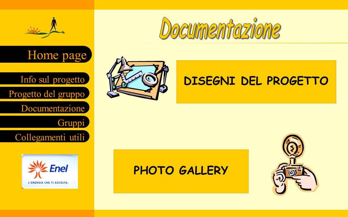 Documentazione DISEGNI DEL PROGETTO PHOTO GALLERY