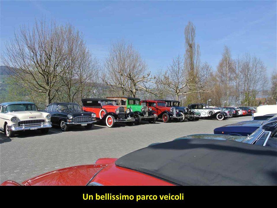 Un bellissimo parco veicoli