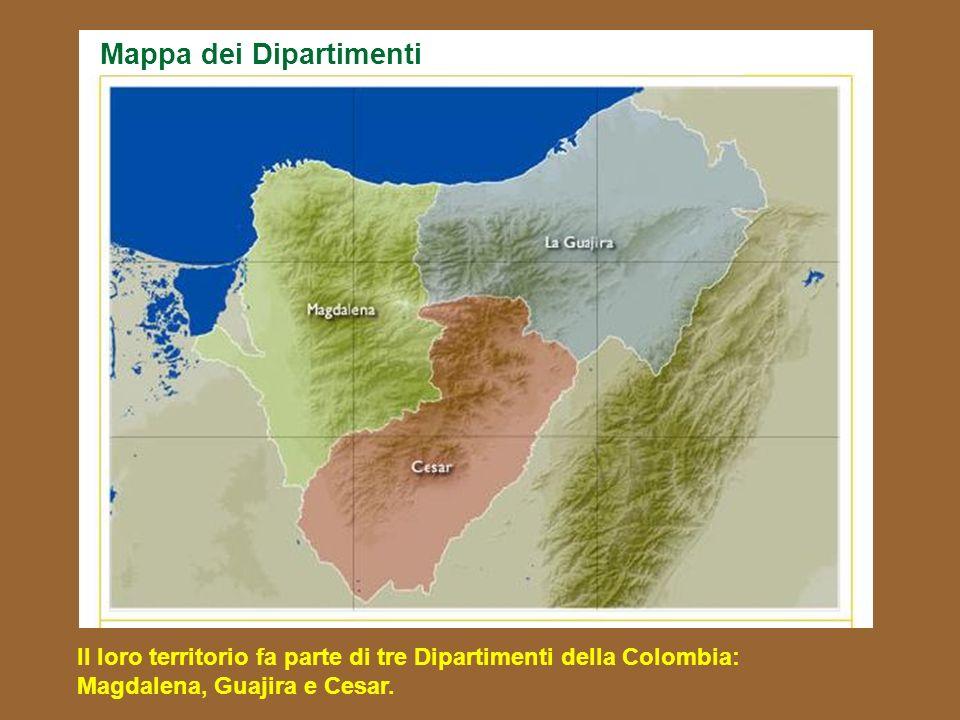 Mappa dei Dipartimenti