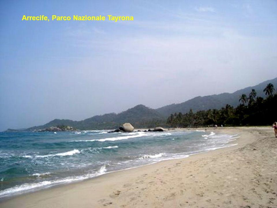 Arrecife, Parco Nazionale Tayrona
