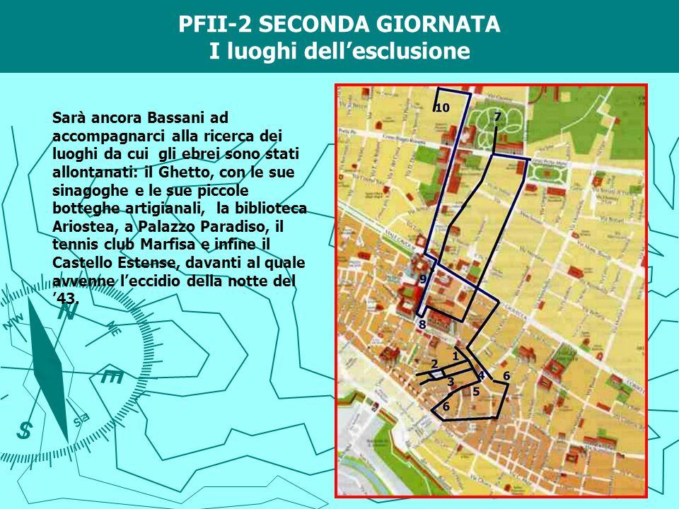 PFII-2 SECONDA GIORNATA I luoghi dell'esclusione