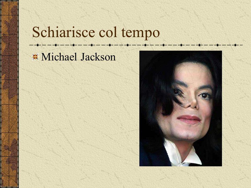 Schiarisce col tempo Michael Jackson