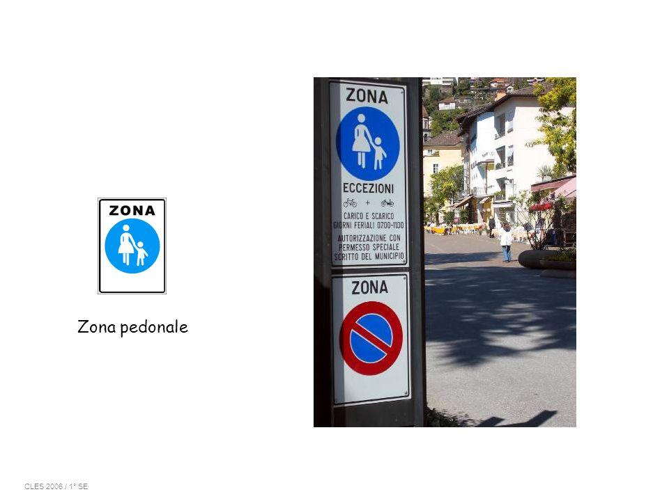 Zona pedonale CLES 2006 / 1° SE