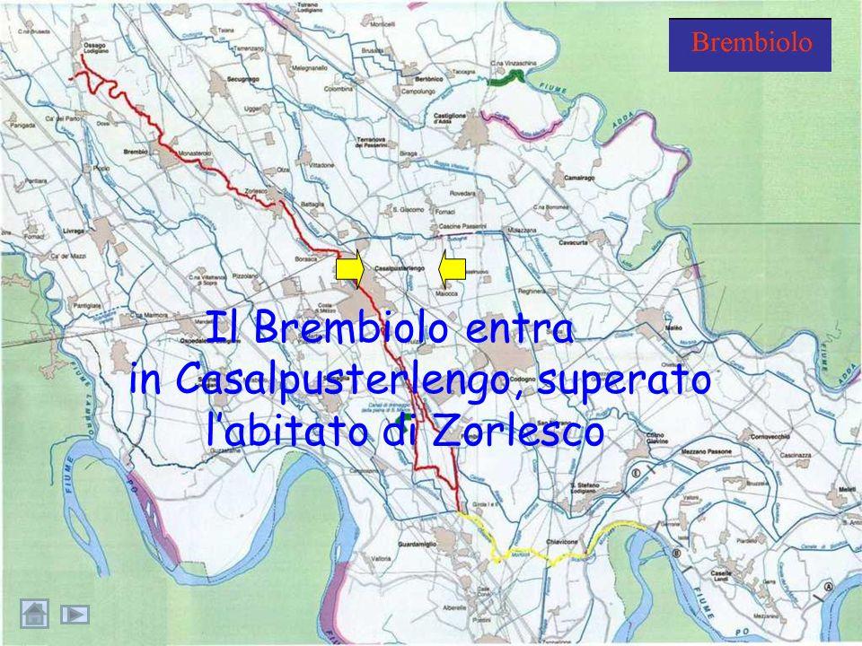 in Casalpusterlengo, superato l'abitato di Zorlesco
