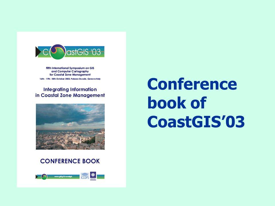 Conference book of CoastGIS'03