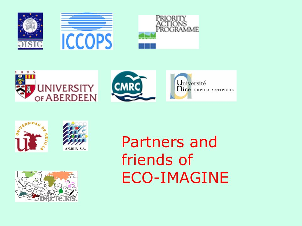 Partners and friends of ECO-IMAGINE