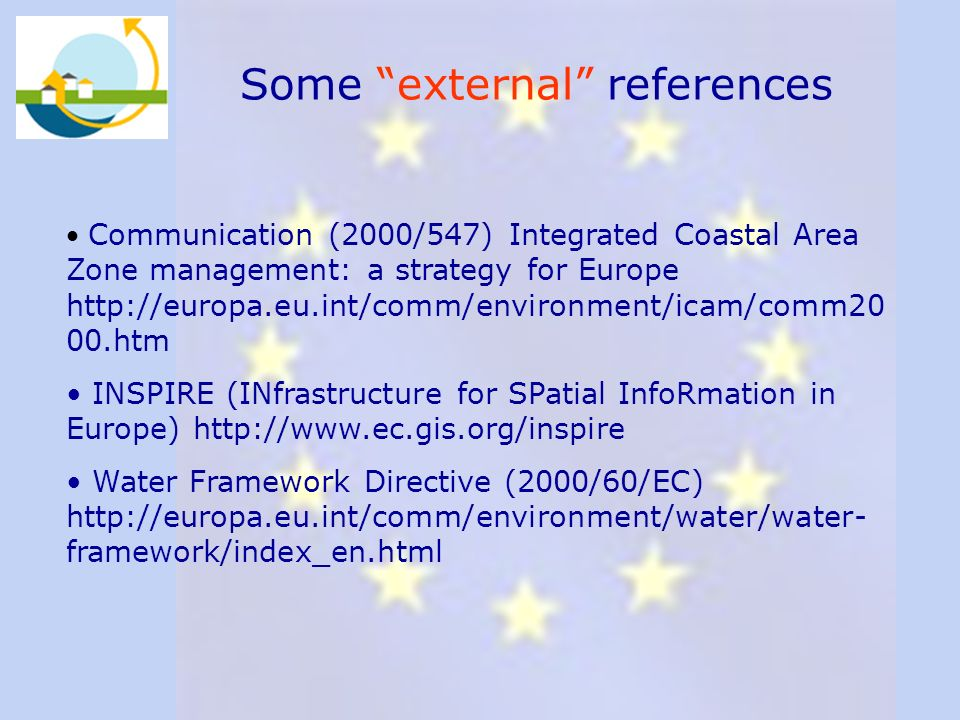 Some external references