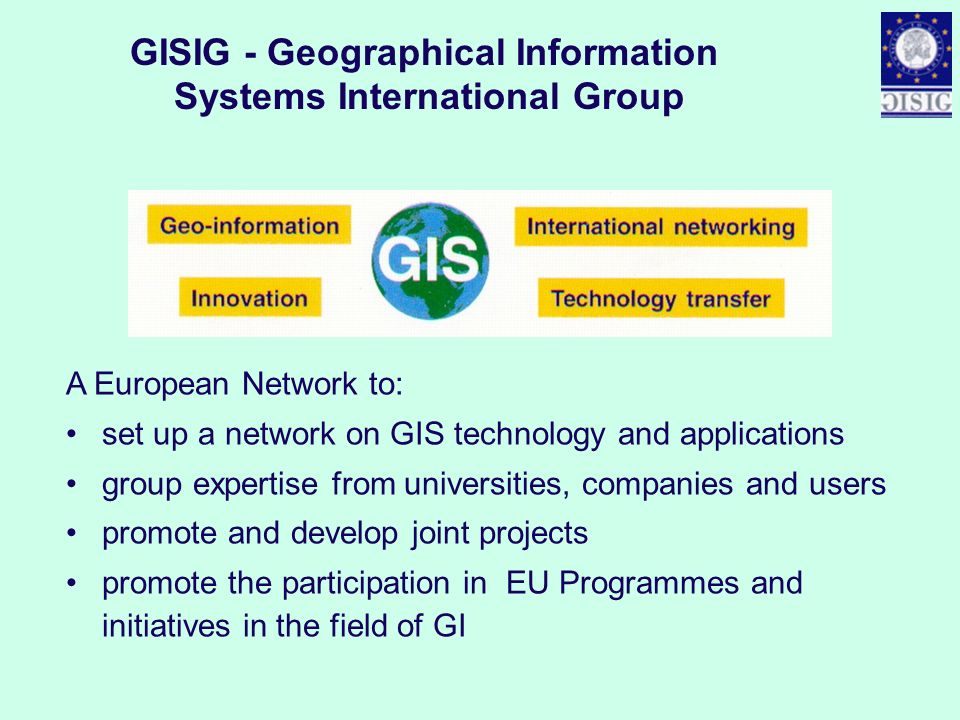 GISIG - Geographical Information Systems International Group
