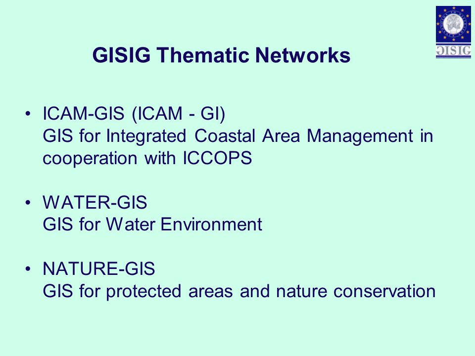 GISIG Thematic Networks