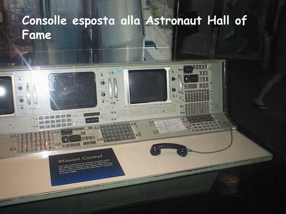 Consolle esposta alla Astronaut Hall of Fame