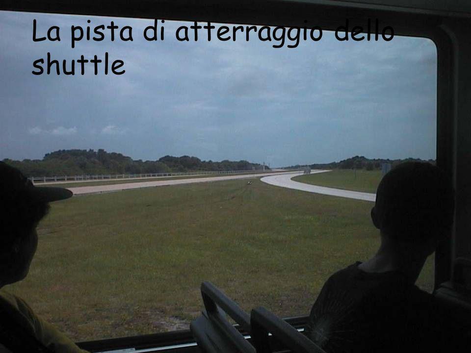 La pista di atterraggio dello shuttle
