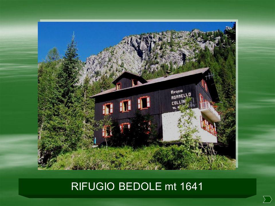 RIFUGIO BEDOLE mt 1641
