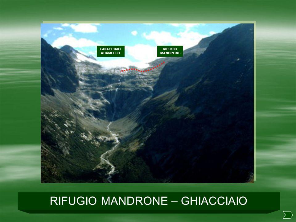 RIFUGIO MANDRONE – GHIACCIAIO