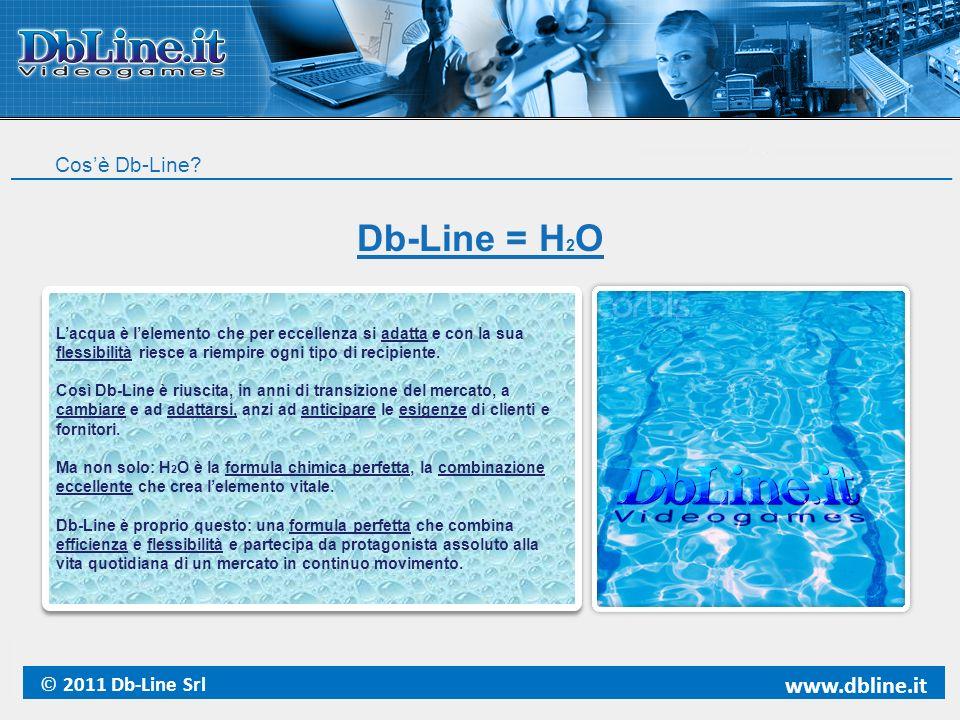 Db-Line = H2O www.dbline.it Cos'è Db-Line © 2011 Db-Line Srl