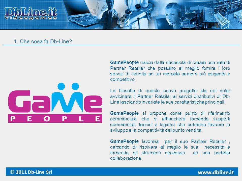 www.dbline.it 1. Che cosa fa Db-Line © 2011 Db-Line Srl