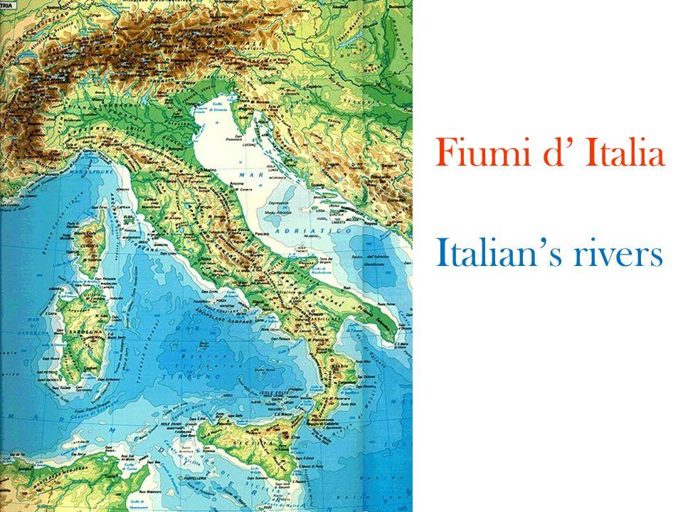 Fiumi d' Italia Italian's rivers